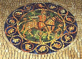Medieval Rider George Fishman Mosaics George Fishman